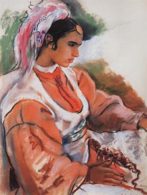 Zinaida Serebryakova. A young Moroccan