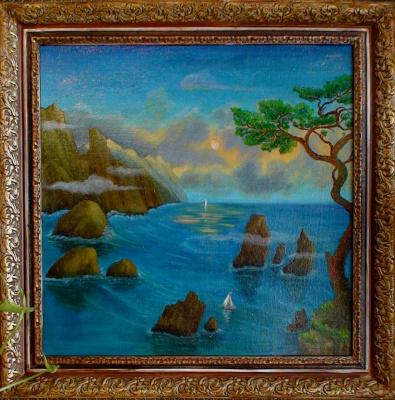 Vladimir Pavlovich Parkin. SEA, Stones ... KURIL.