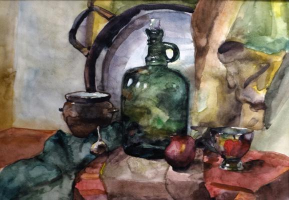 Ilya Igorevich Statsura. Still life with onions