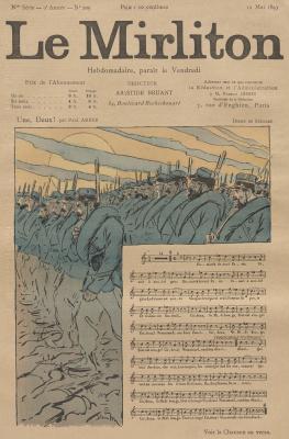 """Теофиль-Александр Стейнлен. Иллюстрация для журнала """"Мирлитон"""" № 109, 12 мая 1893 года"""