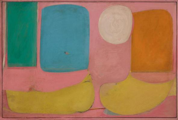 Виллем де Кунинг. Розовый пейзаж