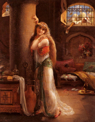 Emile Vernon. Secret message