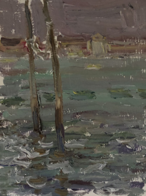 Victoria Malshakova. Venetian coast.