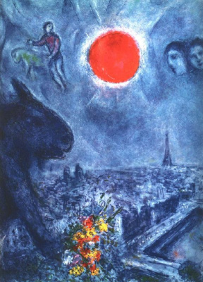 Marc Chagall. The Sun Of Paris