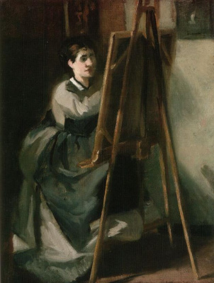 Ева Гонсалес. Молодая  студентка