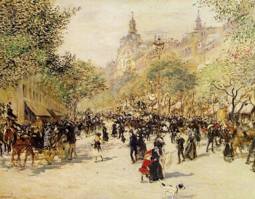 Жан-Франсуа Рафаэлли. Османский бульвар