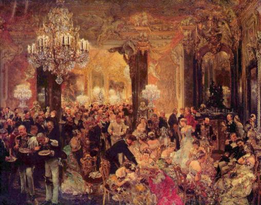 Adolf Friedrich Erdmann von Menzel. Dance