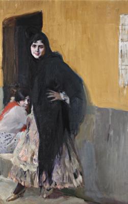 Хоакин Соролья (Соройя). Дамы из Севильи