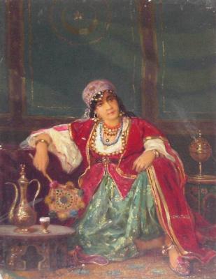 Валерий Иванович Якоби. Турчанка. ранее 1902