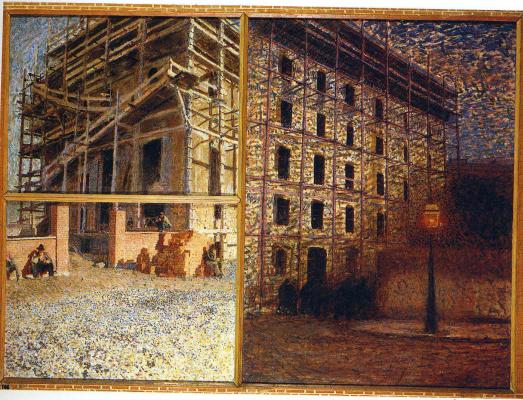 Giacomo Balla. Structure