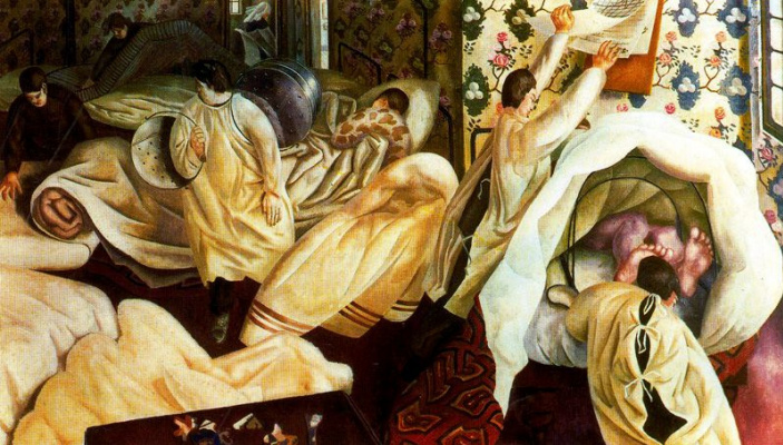 Stanley Spencer. Legs
