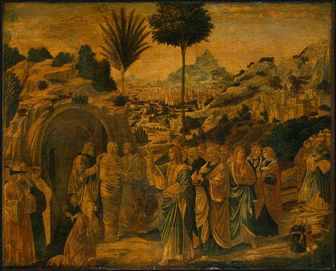 Benozzo Gozzoli. The Resurrection Of Lazarus