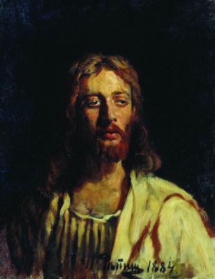 Илья Ефимович Репин. Христос. Этюд