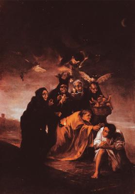 Франсиско Гойя. Заклинание