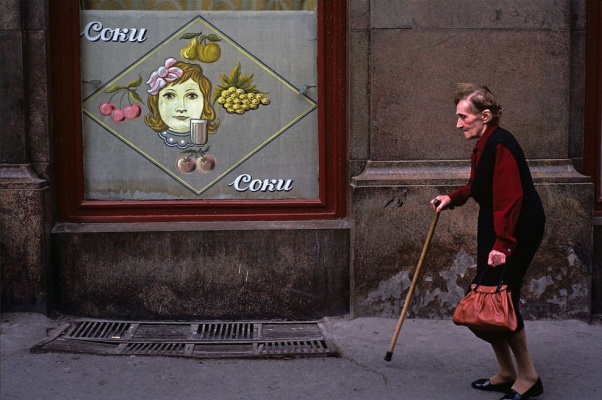 Historical photos. Advertising juice in Odessa 1980s