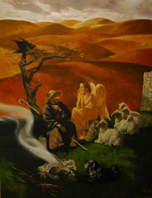 Александр Сергеевич Кривонос. Conversation with an angel
