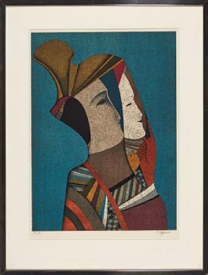 Michael Shemyakin. Двойной портрет Ребекки с маской.