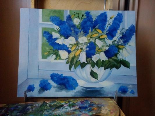 Alina Nesterova. Spring bouquet