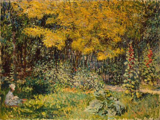 Claude Monet. Garden