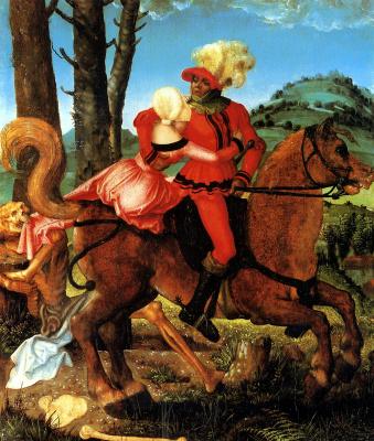 Ханс Бальдунг. Рыцарь, девушка и смерть