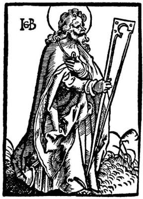 Hans Baldung. Saint Jude Thaddeus
