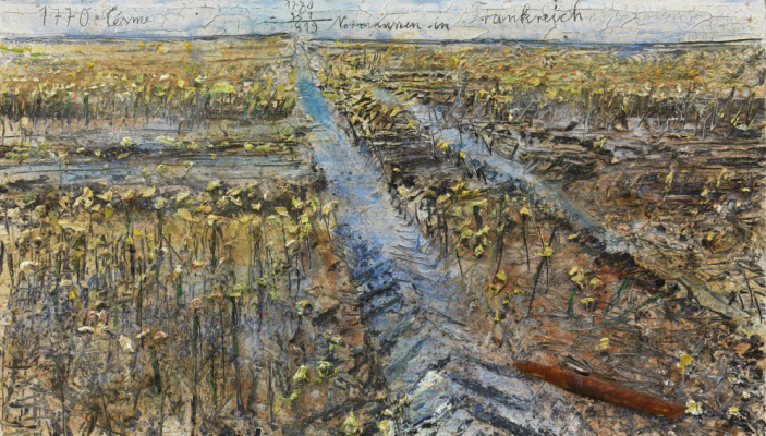 Anselm Kiefer. 1770 Chesma 1770-951=819 Normans in France