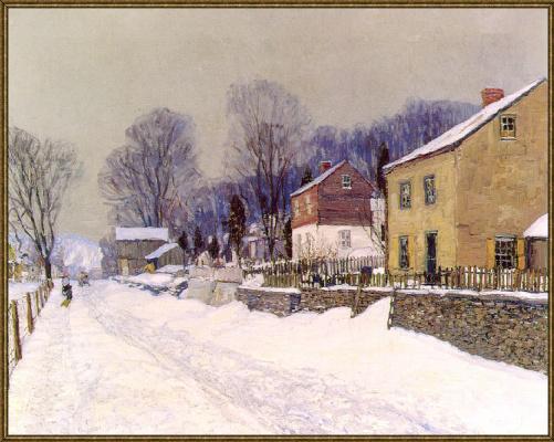 Деревня центр моста