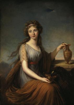 Элизабет Виже-Лебрен. Портрет Анны Питт в виде Гебы