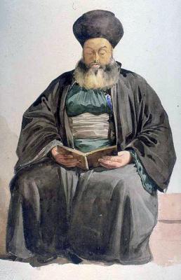 Шарль Глейр. Армянский священник