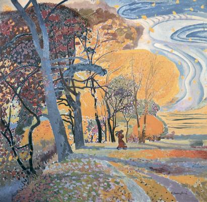 Victor Ivanovich Zaretsky. Autumn. Wind