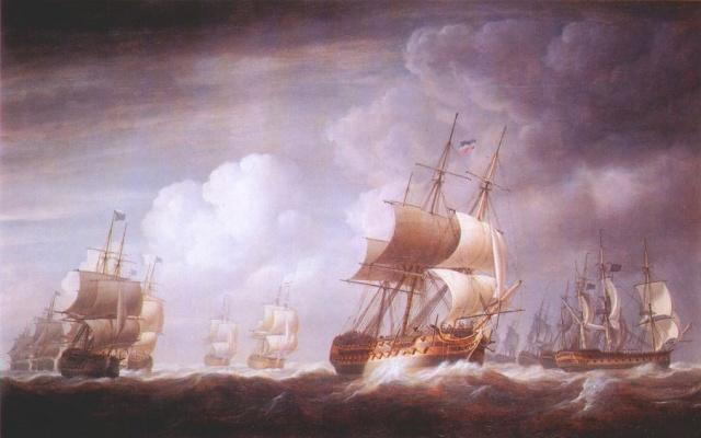 Николас Покок. Флот