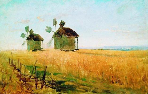 Fedor Alexandrovich Vasilyev. Rye