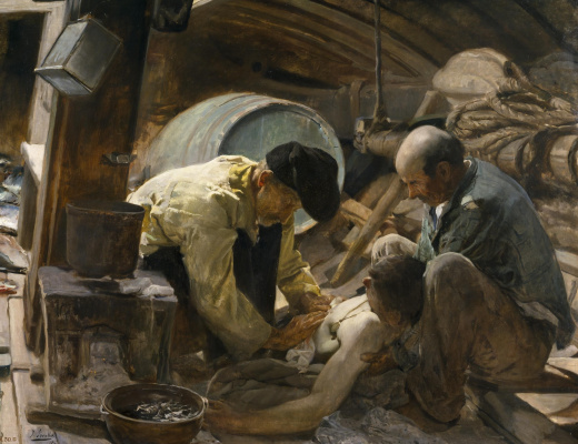 Joaquin Sorolla (Soroya). And they say that fish is expensive!