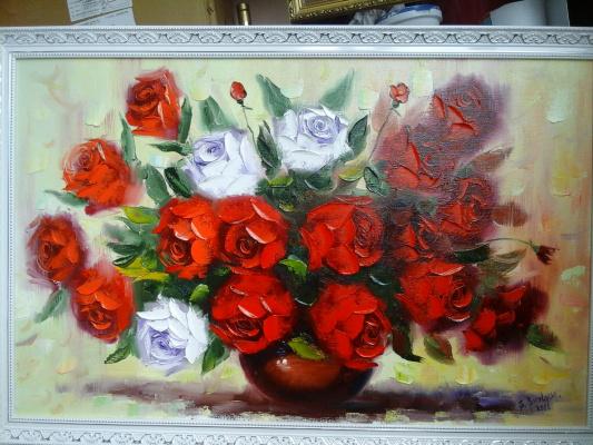 Сергей Бурлаку. Розы