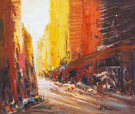 Andrew Shararin. City impressions N3