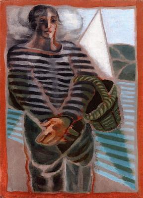 Juan Gris. Fisherman