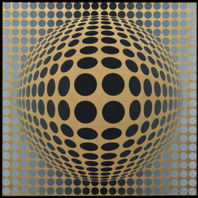 Victor Vasarely. VEGA-Or
