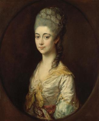 Thomas Gainsborough. Miss Montague