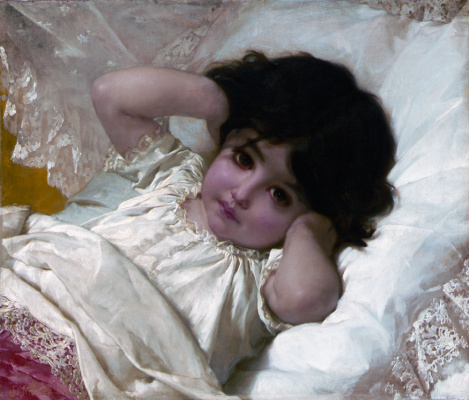 Эмиль Мюнье. Портрет Марии Луизы