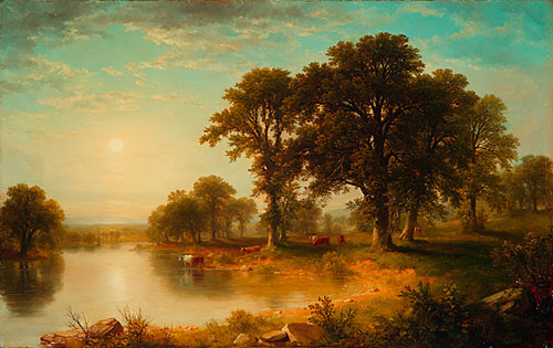 Asher Brown Durand. Trees