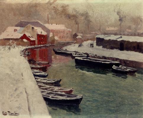 Фриц Таулов. Снег