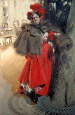 Anders Zorn. The power of the night