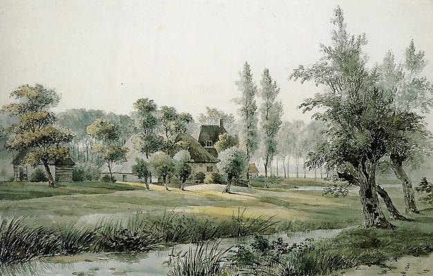 Виллем де Клерк. Дом в лесу