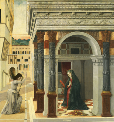 Gentile Bellini. The Annunciation