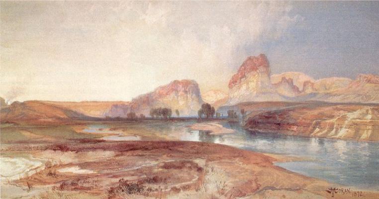 Моран. Река