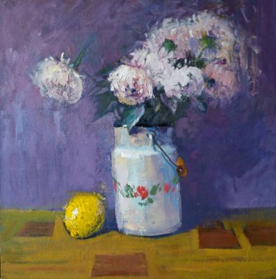 Андрей Шевчук. Цветы в бидоне.