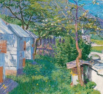 Giovanni Giacometti. Borgonovo spring