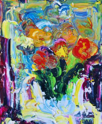 Alexander Ocher Kandinsky-DAE. Green still life