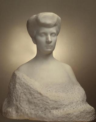 Auguste Rodin. A Portrait Of Barbara Sergeevny Eliseeva
