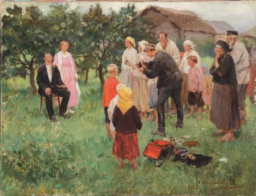 Иван Алексеевич Владимиров. Фотограф в деревне